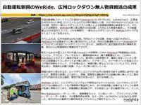 自動運転新興のWeRide、広州ロックダウン無人物資搬送の成果のキャプチャー