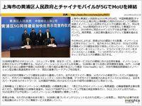 上海市の黄浦区人民政府とチャイナモバイルが5GでMoUを締結のキャプチャー