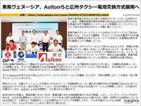 東風ヴェヌーシア、Aultonらと広州タクシー電池交換方式展開へのキャプチャー