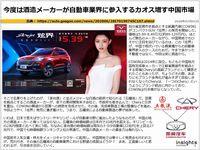 今度は酒造メーカーが自動車業界に参入するカオス増す中国市場のキャプチャー