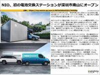 NIO、初の電池交換ステーションが深圳市南山にオープンのキャプチャー