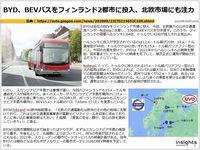 BYD、BEVバスをフィンランド2都市に投入、北欧市場にも注力のキャプチャー
