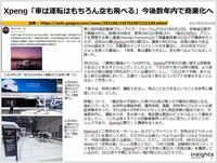 Xpeng「車は運転はもちろん空も飛べる」今後数年内で商業化へのキャプチャー