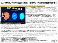 BANMAがアリババ主導に改組、車載OS「Android打ち負かす」のキャプチャー