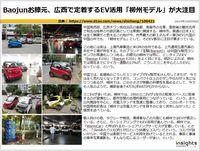 Baojunお膝元、広西で定着するEV活用「柳州モデル」が大注目のキャプチャー