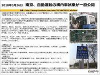 南京、東南大学など、自動運転の構内車試乗が一般公開のキャプチャー