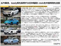 広汽集団、Geely等も採用する日本電産E-Axleを中国現地も注目のキャプチャー
