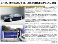 BMW、外資系として初、上海の自動運転ナンプレ取得のキャプチャー