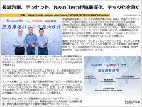 長城汽車、テンセント、Bean Techが協業深化、テック化を急ぐのキャプチャー