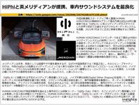 HiPhiと英メリディアンが提携、車内サウンドシステムを最良化のキャプチャー