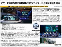 VW、安徽省合肥で自動運転モビリティサービス実証実験を開始のキャプチャー
