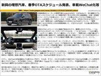 新興の理想汽車、春季OTAスケジュール発表、車載WeChat化等のキャプチャー