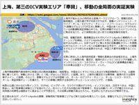 上海、第三のICV実験エリア「奉賢」、移動の全局面の実証実験のキャプチャー