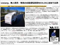 Lixiang、無人販売・物流の自動運転新興NEOLIXに追加で出資のキャプチャー