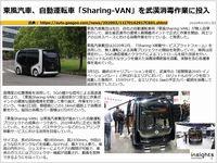 東風汽車、自動運転車「Sharing-VAN」を武漢消毒作業に投入のキャプチャー