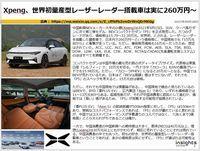 Xpeng、世界初量産型レーザーレーダー搭載車は実に260万円~のキャプチャー