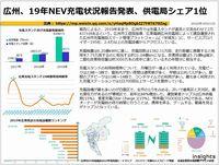 広州、19年NEV充電状況報告発表、供電局シェア1位のキャプチャー