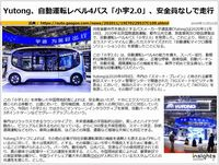 Yutong、自動運転レベル4バス「小宇2.0」、安全員なしで走行のキャプチャー