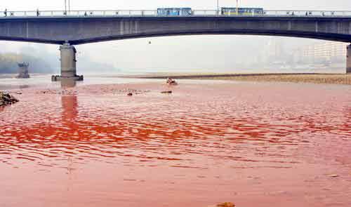 再び赤く染まる黄河1