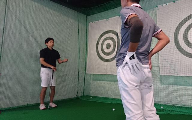 室屋コーチのゴルフ力診断