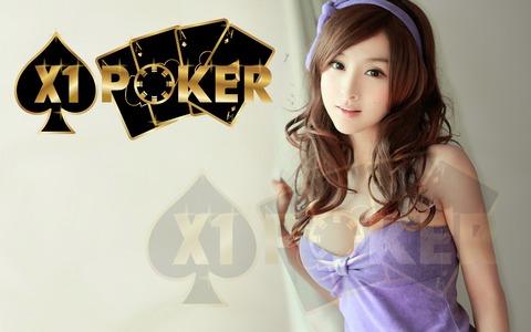 X1 poker online terpercaya