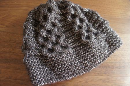 ハニカム模様が編みたくて   ぐーたら主婦の編み物 …