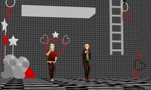 白黒と赤。 モノクロに赤の差し色がポイントです。 ハートはちょっとアレかな\u2026可愛すぎるかな\u2026ううむ。 ハートありとハートなしと2パターン作るかなー。
