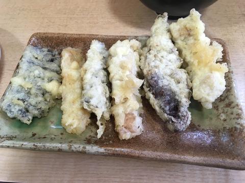 ホルモン天ぷら6種