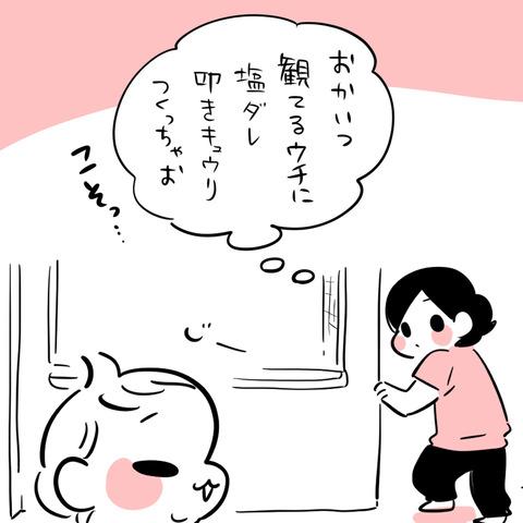 叩ききゅうり1