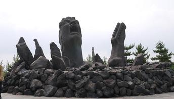 叫びの象徴
