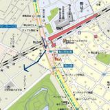 駒込駅と六義園周辺