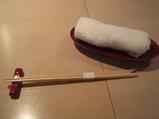お箸とおしぼり