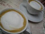 食後のカフェクレーム@ル・プティ・トノー