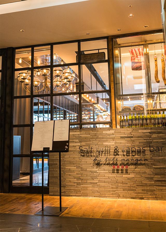 Salt grill & tapas bar by Luke Mangan(銀座) Tasting Menu <テイスティングメニュー>(南オーストラリア産バスチャーフェッド ピナクルビーフリブアイ etc.)