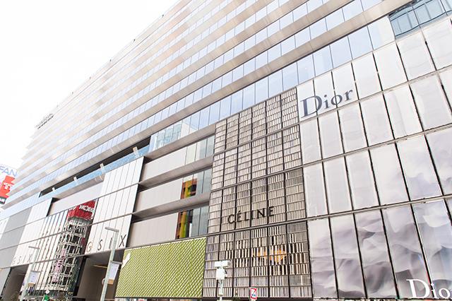 THE GRAND GINZA(銀座) オープニング記念メニュー ¥3,800コース(金目鯛のポワレ 小松菜とハマグリのジュ スープ・ド・ポワソンのエキューム)