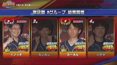 【パワプロアプリ】大阪大会グループAの1位はカーネルさんで2位はイノッチさん!準決勝グループBが開始!