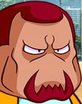 【パワプロアプリ】太平楽の監督の顔って上下逆さまに見たら笑ってるんやな