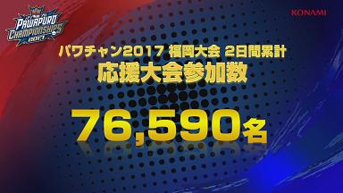 【パワプロアプリ】パワチャン福岡大会の応援大会参加数は76590人!!最大報酬+追加でPRハゲが貰えるぞ!!