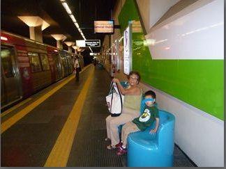 リオ地下鉄ホーム