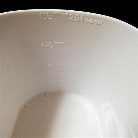 ◯ストックストーバスケットを洗い桶に使ってみた