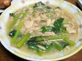 簡単ダイエットレシピ  ツナと小松菜の旨煮