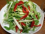 ダイエットレシピぽん酢オリーブサラダ1
