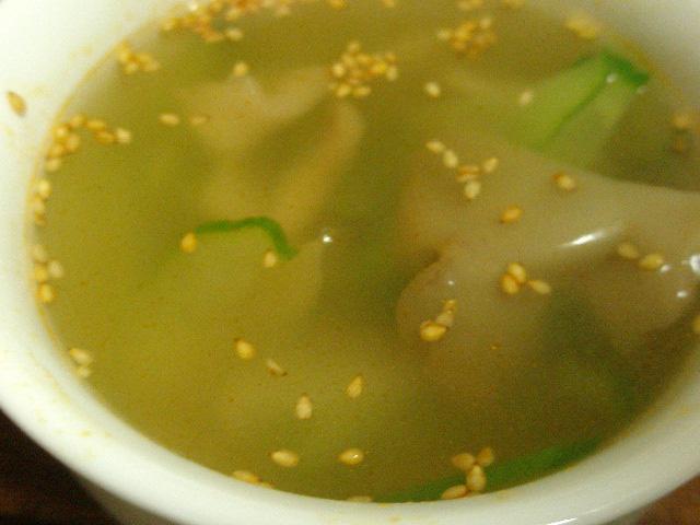 簡単ダイエットレシピ「ザーサイときゅうりの中華風スープ