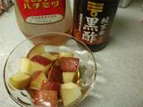 りんごダイエット 黒酢はちみつがけ温りんご5
