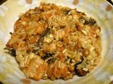 低カロリーダイエットレシピ エノキのキムチ納豆和え