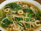 簡単ダイエットレシピ 小松菜とエノキのうま煮