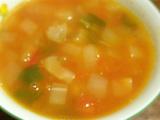 5つのデトックス野菜のオリーブコンソメスープ