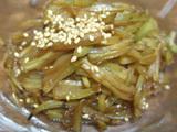 簡単ダイエットレシピ ブロッコリーの茎きんぴら