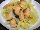 キャベツダイエットレシピ キャベツと鮭のピリ辛煮