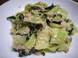 簡単ダイエットレシピ ツナとキャベツの温サラダ